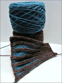 Rockefeller Moon shawl
