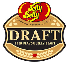 Draft Beer Jelly Belly jelly beans logo.