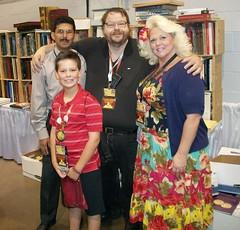 John Burns with Richard Mantia family Chicago ANA 2013