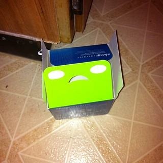 A sad little box #Facesinthings #ThingsWithFaces