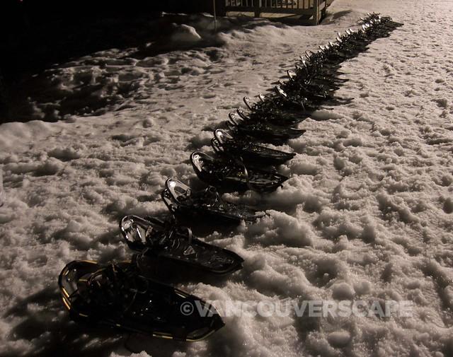 Grouse Snowshoe Fondue Tour-8