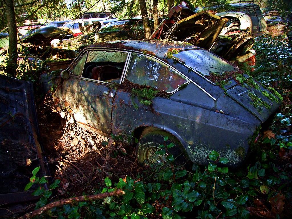 Fiat 850 Sport Coupe - Trust Salvage - Auburn WA