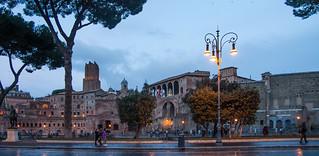 Imagen de Via dei Fori Imperiali. rome roma crépuscule mg5466