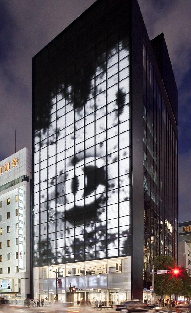Urban Media 187 Chanel Flagship Store Ginza Tokyo