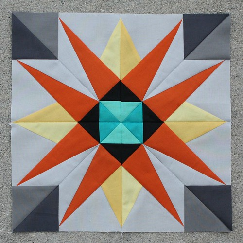 The Shazam Star - February 2014 Lucky Stars Block of the Month Club
