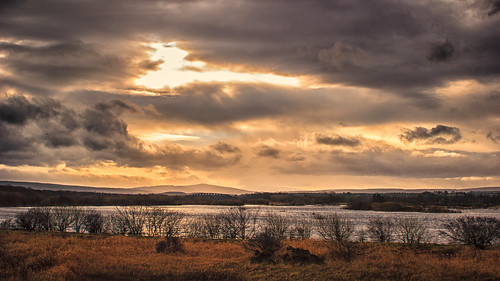sunset night scotland cloudy unitedkingdom speybay