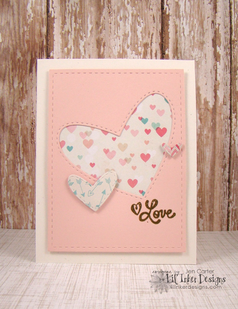 Stitched Hearts Love 2