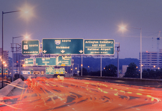 I-395 at Crystal City, VA - 1995