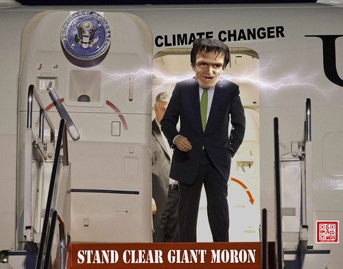 STAND CLEAR GIANT MORON by WilliamBanzai7/Colonel Flick