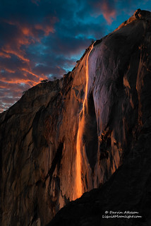 Horsetail Fall - Yosemite National Park