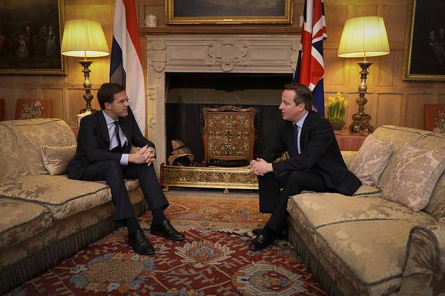 Gesprek minister-president Cameron