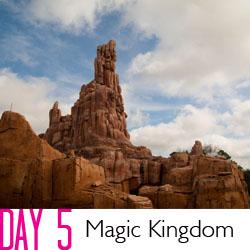 Disney Day 5 Magic Kingdom + See Ya Real Soon