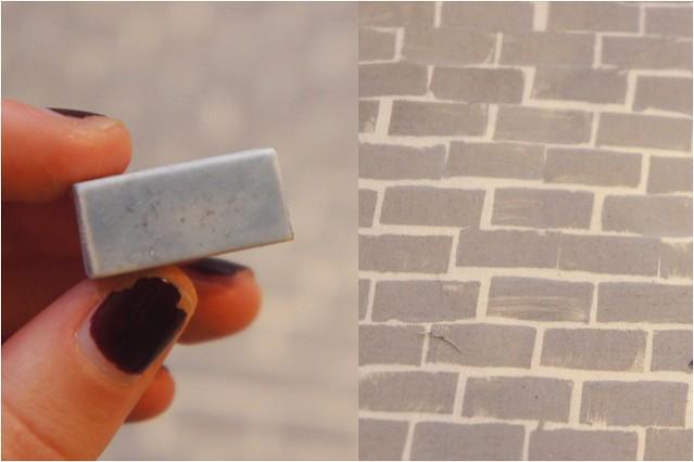 brick print stamp