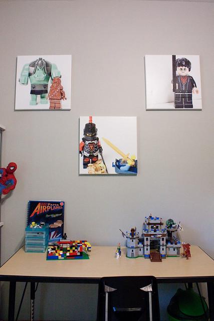 Custom LEGO minifig canvases