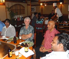 At Dinner in Suva