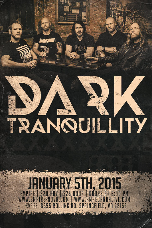 Dark Tranquillity at Empire