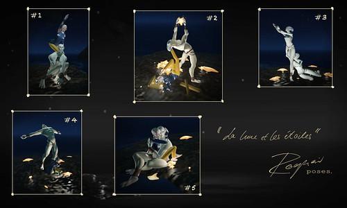 ROQUAI La Lune et les Étoiles 1-5