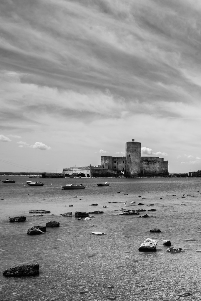 Trapani in BW