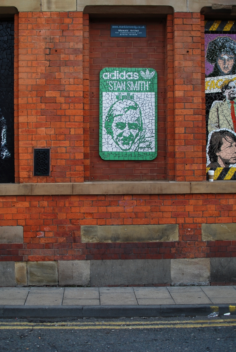 Manchester Northern Quarter Mosaics chambray and curls
