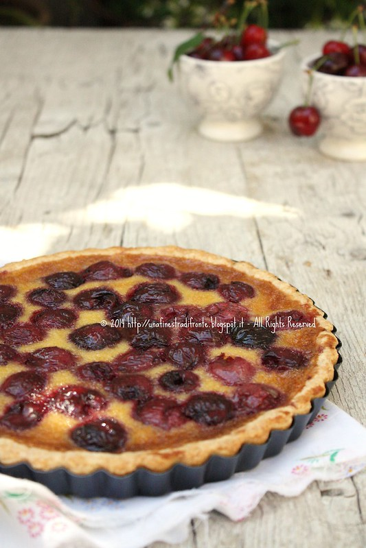 Tarte royale alle ciliegie