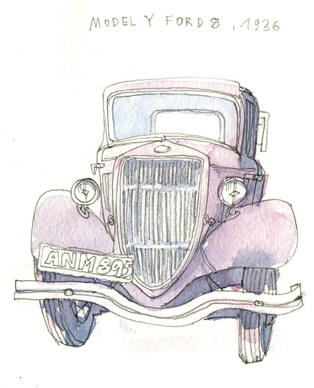 Model Y Ford 8, 1936