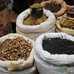 Spices and Roots at Debark Market - Ethiopia