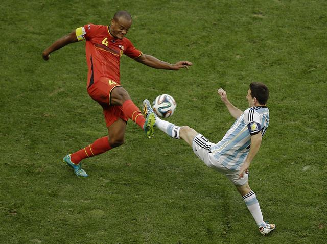 APTOPIX Brazil Soccer WCup Argentina Belgium
