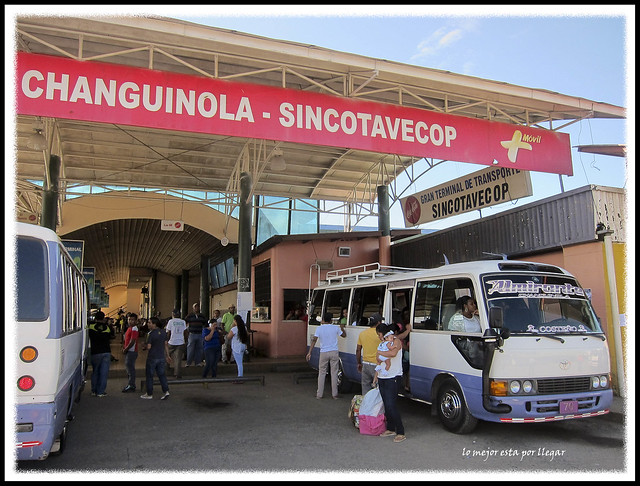 Estación de buses de Changuinola