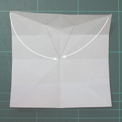 วิธีพับกระดาษเป็นที่คั่นหนังสือรูปผีเสื้อ (Origami Butterfly Bookmark) 006
