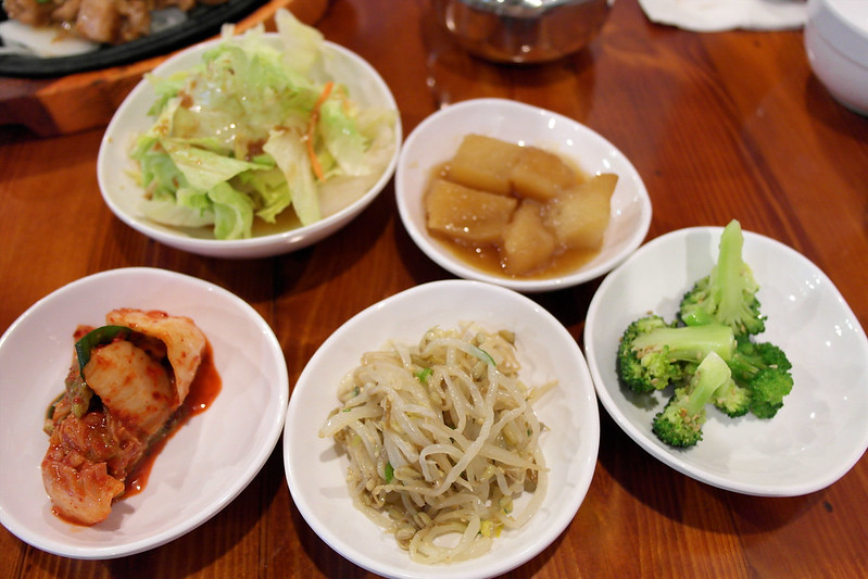 A Ri Rang Tofu House - Banchan