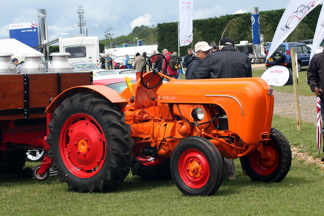 Porsche tractor.