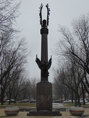 First Polish Armoured Division memorial