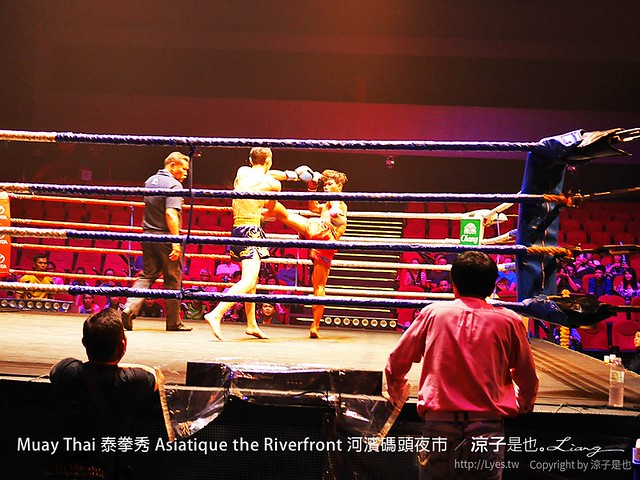 Muay Thai 泰拳秀 Asiatique the Riverfront 河濱碼頭夜市 16