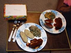 Meatloaf Dinner.