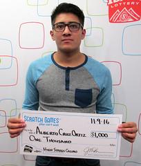 Alberto Cruz Ortiz - $1,000 High Stakes Casino