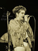 Michael Conen - [PROOF] Tracey Thorn hands clasped on mic singing RE [Everything But the Girl - Wolfgang's, San Francisco CA  1985]