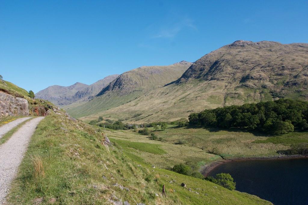 Cruachan hills above Glennoe