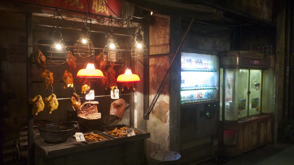 Hong Kong Backstreet Reconstruction