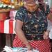 Fish vendor - Mercado; San Mateo del Mar, Región Istmo, Oaxaca, Mexico por Lon&Queta