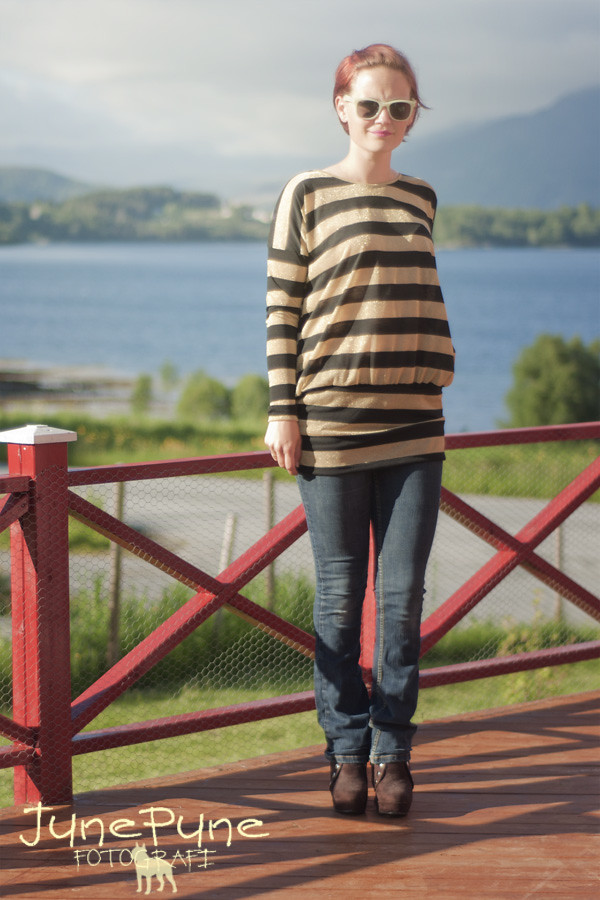 Handmade ellen sand genser