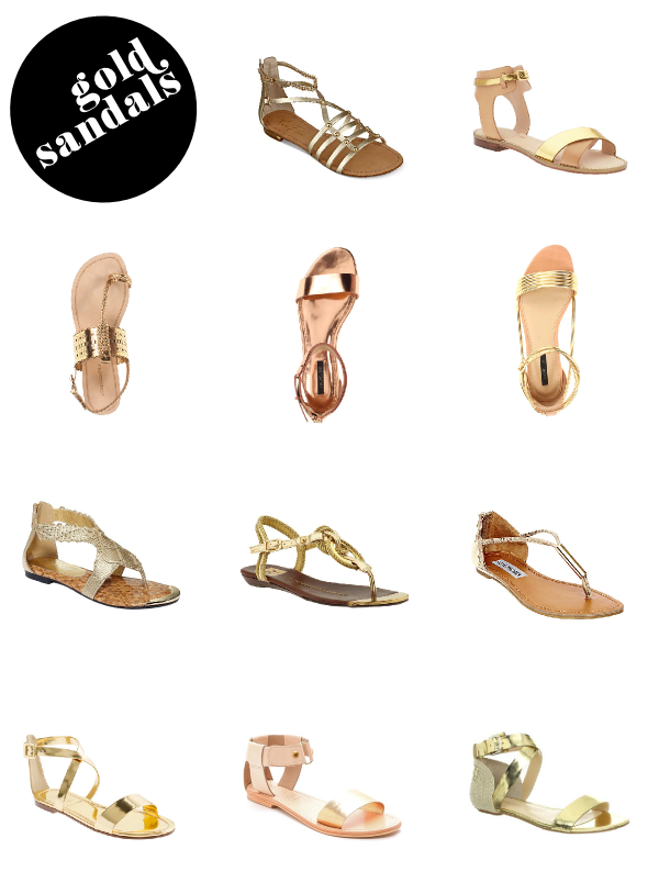 Fabric Paper Glue | Gold Sandal Roundup
