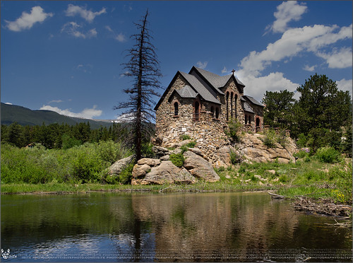 856: Chapel of St Catherine of Siena near Estes Park, CO