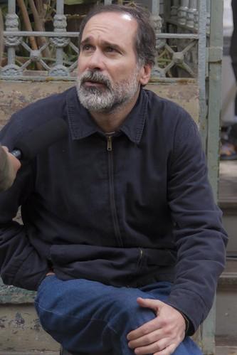 """Paul Vega - Rodaje de """"NN"""", de Héctor Gálvez"""