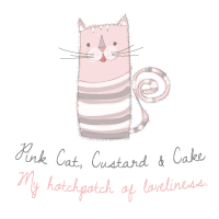 Pink Cat, Custards & Cake<br>