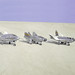 Lifting Bodies on Lakebed by NASA on The Commons