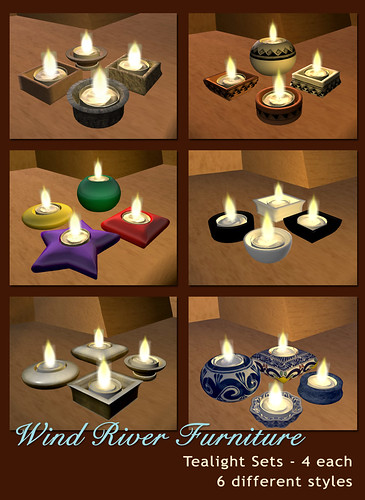 Tealight Sets by Teal Freenote