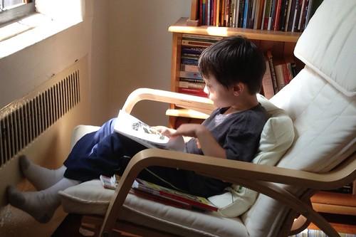 L reading