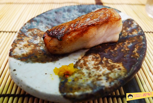 Sushi Sho - Tokyo - Nodoguro with yuzu