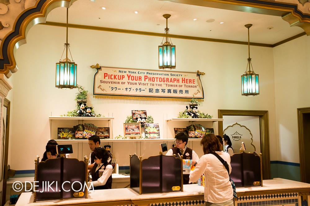 Tokyo DisneySea - Tower of Terror shop