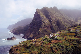 Madeira Landscape in film colours